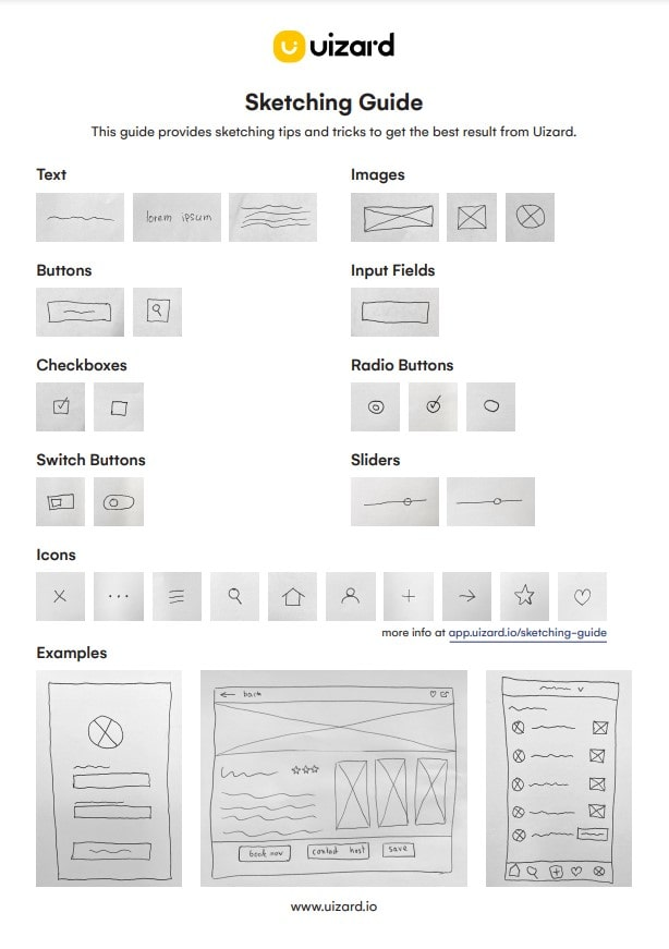 INTEGU - Uizard Sketch Guide