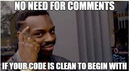 INTEGU - No Comments For Clean Code