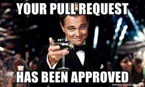 INTEGU - pull request approved